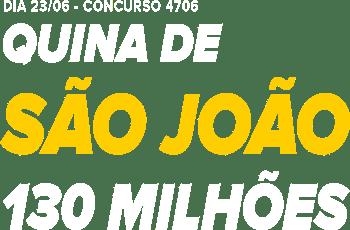 Texto Quina São João